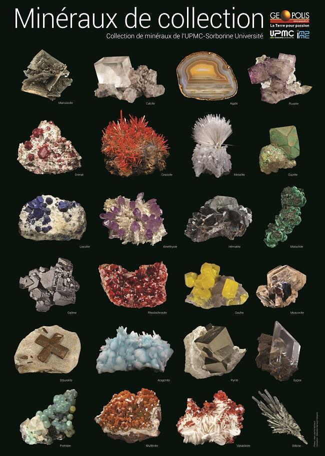 2 Posters - 24 minéraux de Collection (2016)