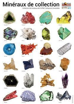 2 Posters - 24 minéraux de Collection (2017)