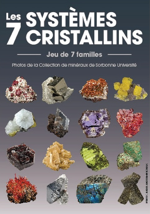 Jeu des 7 familles : Les 7 systèmes cristallins